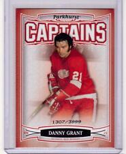 DANNY GRANT 06/07 Parkhurst CAPTAINS Insert Card #180 Detroit Red Wings /3999