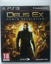 Deus Ex. Human Revolution. Ps3. Fisico. Pal Es