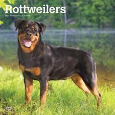 ROTTWEILERS - 2021 WALL CALENDAR - BRAND NEW - 22240