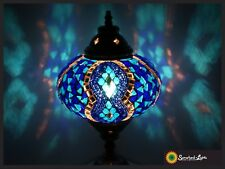 Mosaiklampe L orientalische Lampe mosaiklampe Samarkand-Lights Blau
