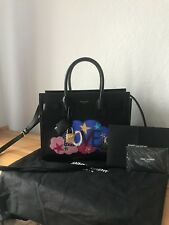 NUOVO originale Yves Saint Laurent Bag Classic BABY SAC DE JOUR Black Borsa