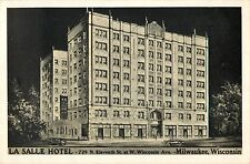 A View Of The La Salle Hotel, 729 N. Eleventh St, Milwaukee, Wisconsin WI 1951
