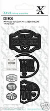 Xcut 3pc die set JUST MARRIED Wedding HAPPILY EVER AFTER  THANK YOU dies