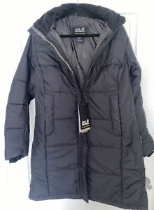 Jack Wolfskin Women's Iceguard Coat Black M