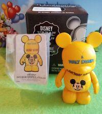 "Disney Vinylmation 3"" Park Set 2 Urban with Box and Card Cartoon Mickey Mouse"