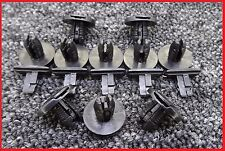 10 X Negro Tira de clips de cubierta de Ajuste de Arranque de Saab