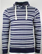 TOM TAILOR Herren Sweat - Striped Sweatshirt with Snood