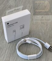 Apple iPhone Charger Cable 1M Charging Lead Lightning To USB Cable 1M Long Fast