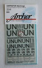 Archer 1/35 United Nations Protection Force UNPROFOR Markings Yugoslavia AR35117