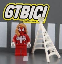 LEGO SUPER HEROES MARVEL MINIFIGURA  `` SPIDER-GIRL ´´  Ref 76057  100x100 LEGO
