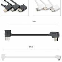 1 pair Controller Type C USB OTG Data Cable 10/30cm F/ DJI Mavic 2 pro/air/spark