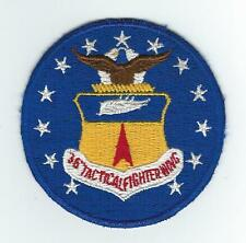 1970s 36th TAC FIGHTER WING patch