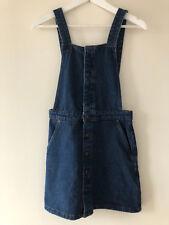 Supersüsses ZARA Jeans Latz Kleid latzkleid denim Träger individuell verstellbar