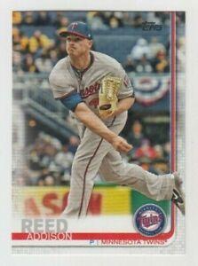 (9) Addison Reed 2019 TOPPS SERIES 1 CARD LOT #193 MINNESOTA TWINS