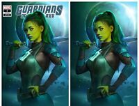 GUARDIANS OF THE GALAXY #1 SHANNON MAER VIRGIN & TRADE SET GAMORA - NM OR BETTER
