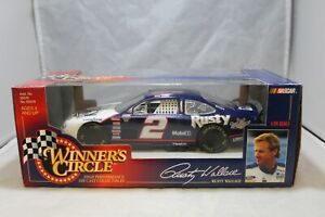 1998 NASCAR Winners Circle 1:24 Scale Diecast #2 Rusty Wallace Mobil 1