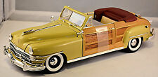 Chrysler Windsor Town & Country Cabriolet 1948 creme 1:18 Motor City Classic