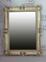 Espejo Barroco de pared oro / PLATA DUAL ANTIGUO ROCOCO 90x70