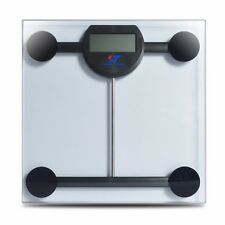 180KG/396LB Digital Glass LCD Electronic Weight Body Bathroom Health Scale