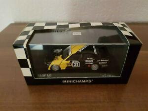 BMW M3 E30 DTM 1988 # 31 Eifelrennen Winner Kurt Thiim 1:43 Minichamps