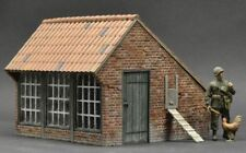 DioDump DD115 Large chicken coop 1:35 scale - resin diorama building