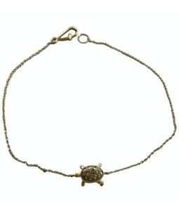 Annoushka Bracelet 18ct Yellow Gold Turtle Diamond
