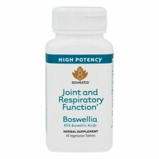 Savesta Boswellia Joint and Respiratory Function Highest Potency 60 Tablets