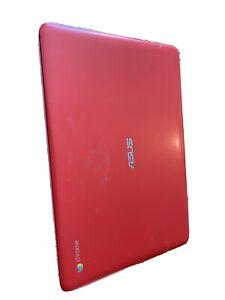 ASUS C300M 11.6 inch (16GB, Intel Celeron N, 2.16GHz, 2GB) Chromebook - Red