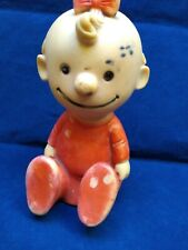 PEANUTS SALLY HUNGERFORD SQUEEZE FIGURE VINTAGE 70'S MADE IN MEXICO