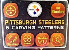 NFL Pittsburgh Steelers Pumpkin Carving Kit  Stencils  Damaged Package New