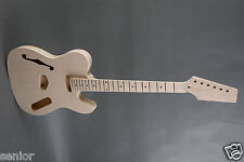 NEW CUSTOM RIGHT HANDED 1969 STYLE THINLINE SEMI-HOLLOW TELE ELECTRIC GUITAR KIT