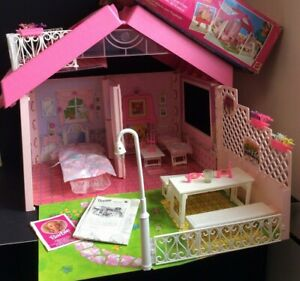 Vintage Barbie MAGIC HOUSE Mattel 1545 with Box and Instructions AC