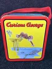 Curious George Mini Tin Lunch Box