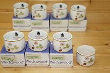 Wedgwood Wild Strawberry (8) Napkin Rings, 7 In BOX