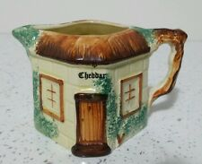 Keele Street Cottage Style Hand Painted  Milk Jug creamer Cheddar Souvenir