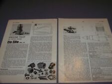 VINTAGE..ETA ELITE MK.II 2.5 CC R/C ENGINE..1-VIEWS/GRAPHS/SPECS..RARE! (733P)