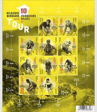 België / Belgium - Postfris / MNH - Sheet Belgian Winners, Tour de France 2017