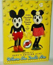 Hakes Americana Sept 2007 #192 Giant Mickey Minnie Doll Movie Poster Comic Books