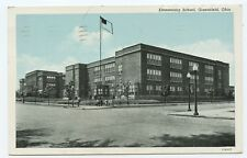 Elementary School Greenfield Ohio Postcard