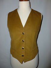 Ladies Jaeger su misura in Velluto a Coste Gilet Taglia MED = UK14 Made in England