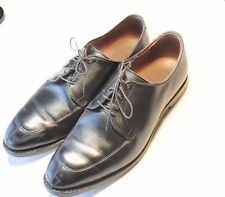 ALLEN EDMONDS Delray Sz 10 EEE Black Austerity Brogue Men's Oxford Dress Shoes