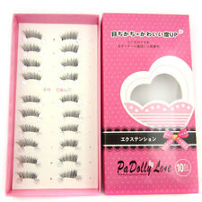 Hot HS-33 10 pairs/lot Half/ Mini /Corner Winged False eyelashes Cute eye lashes