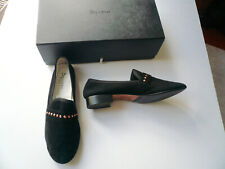 REPETTO Mocassins loafers MICHAEL daim noir TBE T41