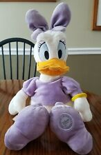 Disney Store 18 Inch Daisy Duck Stuffed Plush Toy, Lavender Dress & Bow
