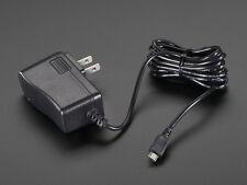 Raspberry Pi 5V 2A Switching Power Supply Plug w/ Micro B USB 2 Amp Pi 2 & B+