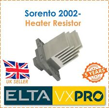 For Sorento I 2.4 2.5 CRDi 3.5 V6 4WD 2002- ELTA Interior Heater Blower Resistor