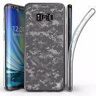 For Samsung Galaxy S8 Plus,Tri Max Transparent Full Body Case Cover Digital CAMO