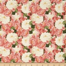 Timeless Treasures Jessica C3563 Pink Floral 100% cotton Fabric by the yard