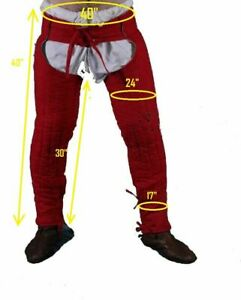 GAMBESON LAGGING REENACTMENT PADDED ARMOR THICK /CHUSSES