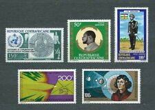 CENTRAFRICAINE - 1973 YT 119 à 123 - POSTE AERIENNE - TIMBRES NEUFS* MH